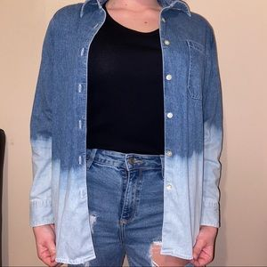 GAP Bleached Jean Jacket | Small